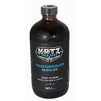 KATZ Cold Brew Coffee Texas Chocolate Mudslide, 16OZ