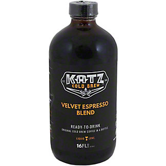 Katz Cold Brew Velvet Espresso Blend, 16 oz
