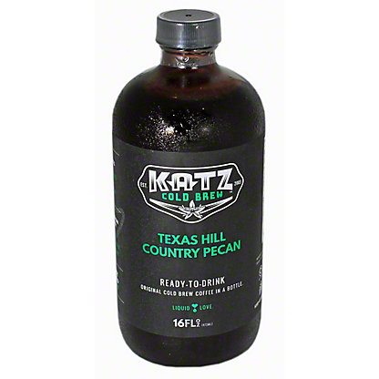 KATZ Cold Brew Coffee Texas Hill Country Pecan, 16OZ