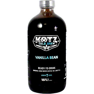 KATZ Cold Brew Coffee Vanilla, 16OZ