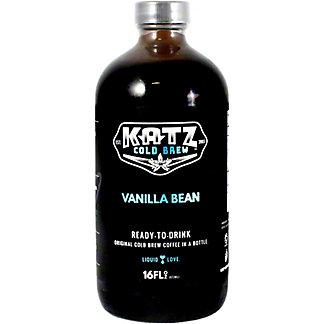 KATZ Cold Brew Coffee Vanilla, 16OZ