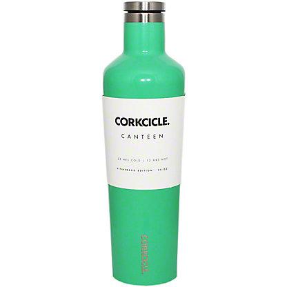 Corkcicle Gloss Caribbean Green Canteen, 25 oz