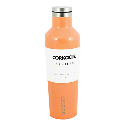 Corkcicle Gloss Peach Echo Canteen, 16 oz