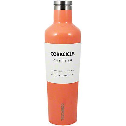 Corkcicle Gloss Peach Echo Canteen, 25 oz