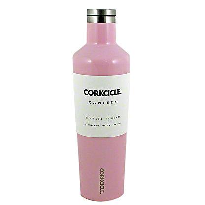 Corkcicle Gloss Rose Quartz Canteen, 25 oz
