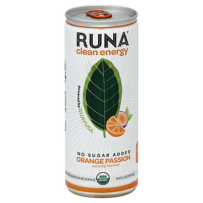 Runa Blood Orange Guayusa Energy Drink, 8.4 oz