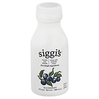 Siggi's Drinkable Whole Milk Yogurt Blueberry, 8 oz