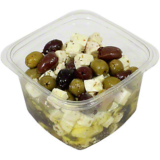 Apetina Marinated Feta & Pitted Olives In Oil, lb