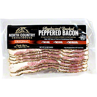 North Country Smokehouse Peppered Bacon, 12 OZ