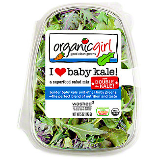 OrganicGirl I Heart Baby Kale, 5 oz