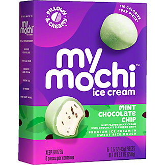 My Mo Mochi Ice Cream Mint Chocolate Chip, 6 ct