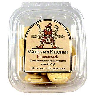 Wackym's Kitchen Butterscotch Cookies, 5.5OZ