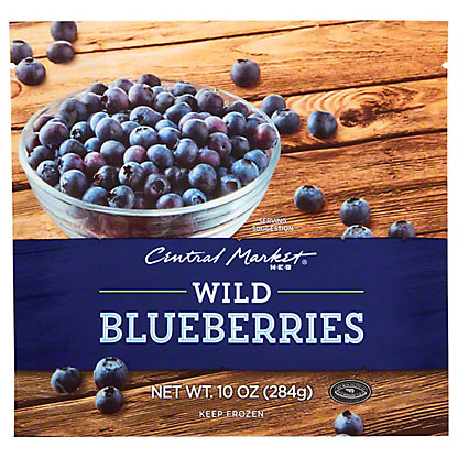 Central Market Wild Blueberries, 10 oz