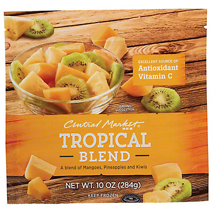 Central Market Tropical Fruit Blend, 10 oz