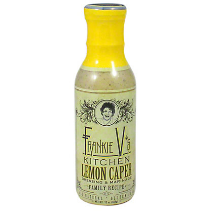 Frankie Vs Lemon Caper Dressing,12 OZ