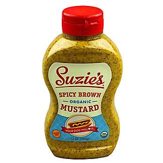 Suzies Organic Spicy Brown Mustard,12 OZ