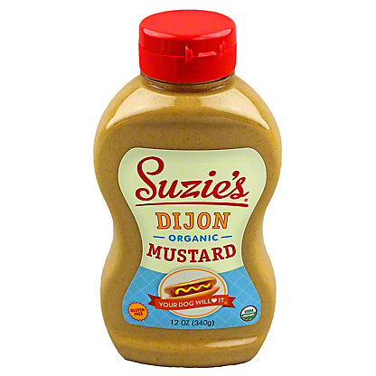 Suzies Organic Dijon Mustard,12 OZ