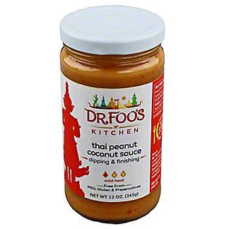 Dr Foo's Kitchen Thai Peanut Coconut Sauce,12 OZ