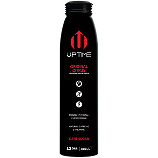 Uptime Energy Drink Original, 12 oz