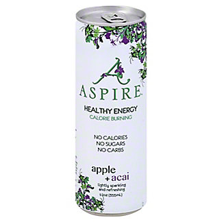 Aspire Apple Acai Energy Drink, 12 oz