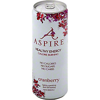 Aspire Cranberry Energy Drink, 12 oz