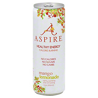 Aspire Mango Lemonade Energy Drink, 12 oz