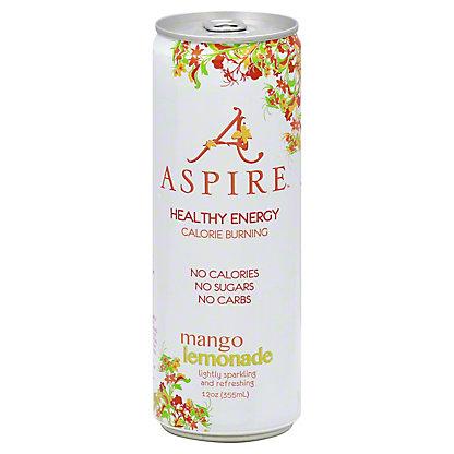 Aspire Mango Lemonade Energy Drink, 12 oz