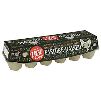 Vital Farms Pasture Raised Al Fresco Eggs, 12 ea