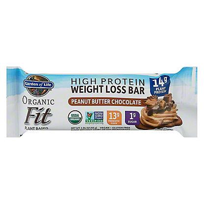 Garden of Life Organic Fit Bar Peanut Butter Chocolate, 1.9 oz