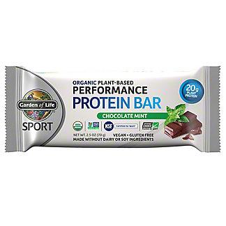 Garden of Life Sport Organic Bar Chocolate Mint, 2.5 oz