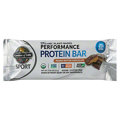 Garden of Life Sport Organic Bar Peanut Butter Chocolate, 2.7 oz