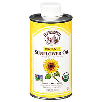 La Tourangelle Organic Sunflower Oil, 16.9 oz