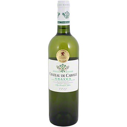 Chateau De Carolle Graves Blanc,750 mL