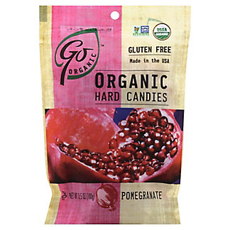 Go Naturally Organic Pomegranate Hard Candies, 3.5 oz