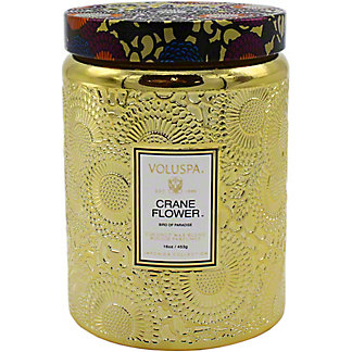 Voluspa Crane Flower Candle, 16 oz