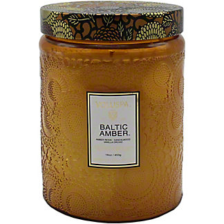 Voluspa Baltic Amber Candle, 16 oz