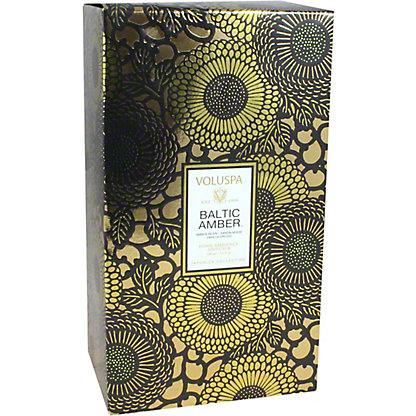 Voluspa Baltic Amber Reed Diffuser, 3.4 oz