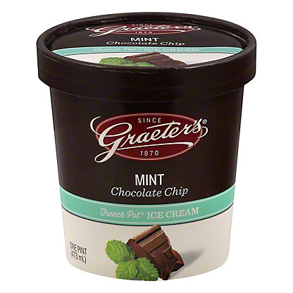 Graeters Mint Chocolate Chip, pt