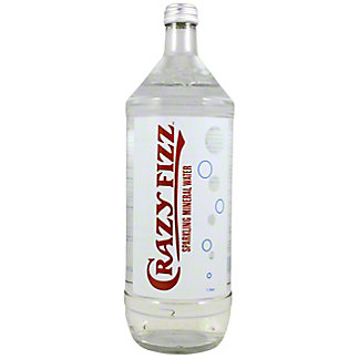 Crazy Water Fizz Sparkling Mineral Water,1 L