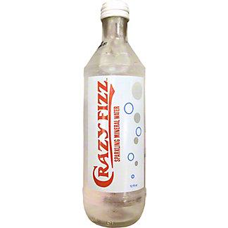 Crazy Fizz Sparkling Mineral Water, 12 fl oz