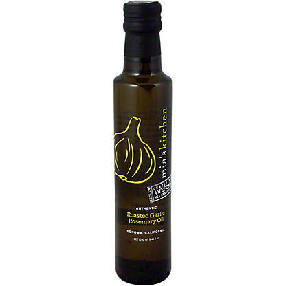 Mias Kitchen Roasted Garlic Rosemary Oil, 8.45OZ