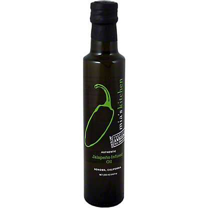 Mias Kitchen Jalapeno Infused Oil, 8.45OZ