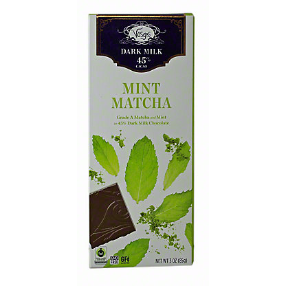 VOSGES Exotic Mint Matcha Bar, 3 oz