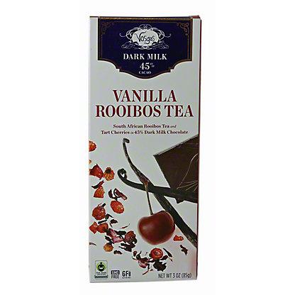 VOSGES Vanilla Rooibos Tea Exotic Chocolate Bar, 3OZ