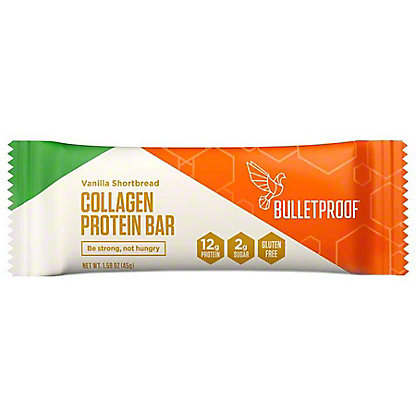Bulletproof Vanilla Max Collagen Bar, 1.58 oz