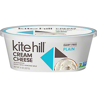 Kite Hill Plain Cream Cheese, 8 oz