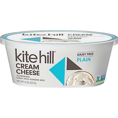 Kite Hill Plain Cream Cheese, 8 oz