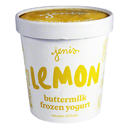 Jenis Splendid Ice Cream Lemon Buttermilk Frozen Yogurt, pt