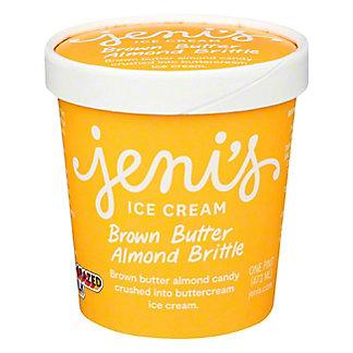 Jenis Splendid Ice Cream Brown Butter Almond Brittle, pt