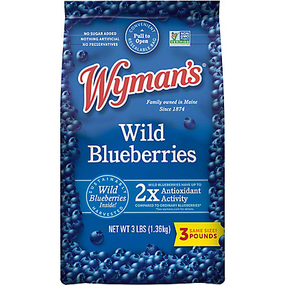 Wymans Wild Blueberries, 3 lb